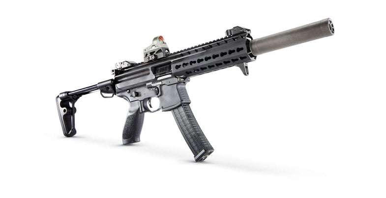 Contenders for the Army's New Submachine Gun