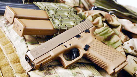 Photos have been released of Glock's entry in the Army's Modular Handgun System trial, and they have some decidedly non-Glock features.
