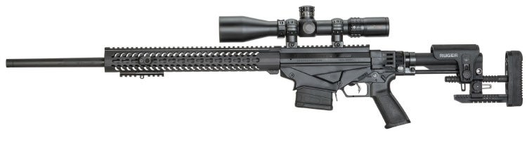 The Ruger Precision Rifle is one of the company's most popular bolt-action rifles.