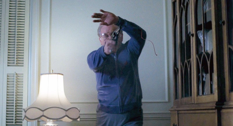 Leo (Robert Prosky) uses a Smith & Wesson Model 19 with pearl grips at the end of the film.