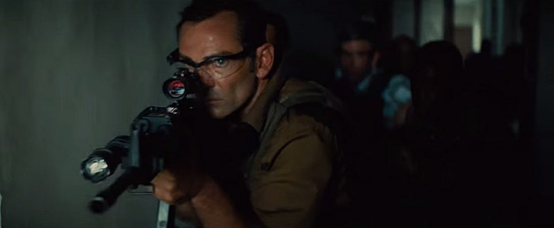 CIA agents in the movie use M4A1 carbines.