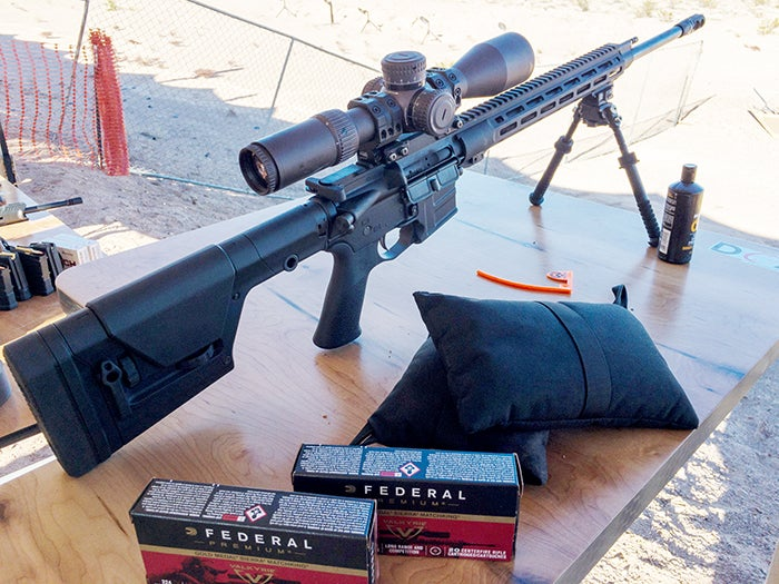 The new MSR-15 from Savage Arms, chambering in Federal's brand new long-range round, the 224 Valkyrie.