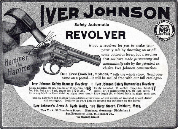 Oscar Mossberg's friend offered him a job when he arrived in the U.S. at the Iver Johnson Arms & Cycle Works.