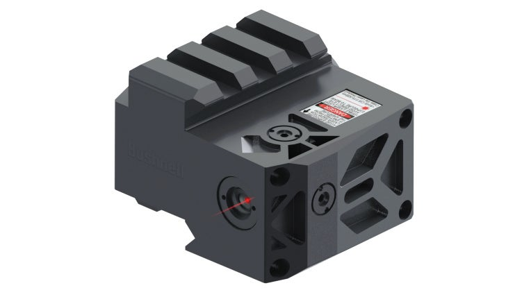 The new RUSH high-rise mount from Bushnell with integrated laser sight.