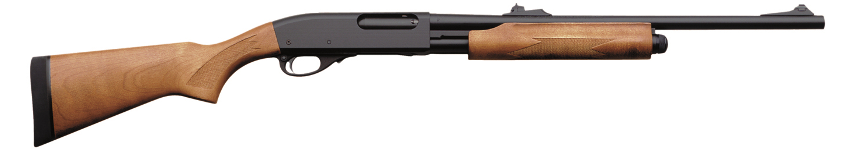 Remington Model 870 Express Fully Rifled Deer model with iron sights.