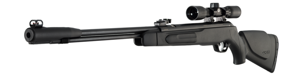 The new Gamo ACCU177 Air Rifle is a spring gun that pushes pellets at 1250 fps.