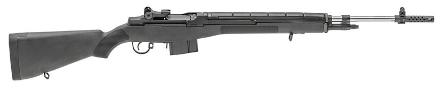 M1A in 6.5 Creedmoor with Black Composite Stock. This model is California-compliant.