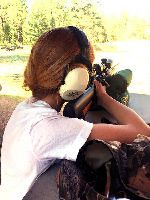 Our daughter felt most comfortable shooting the Tikka T3x Compact paired with Alpen Optics Kodiak scope. The gun fit her extremely well and she was able to quickly pick up her target using the simpler