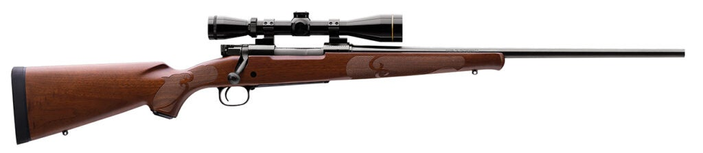 The Winchester Model 70 in .30-06.