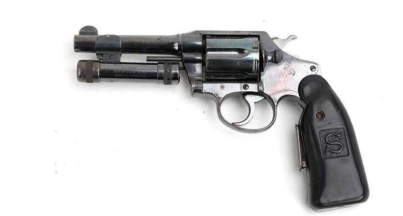 The other side of this experimental revolver.