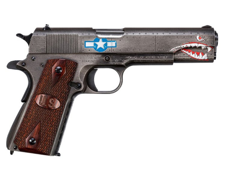 Custom 1911 With Retro WWII Aircraft Look