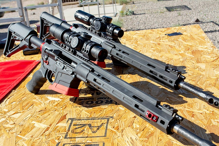The new Savage MSR-10 Competition HD and MSR-15 Competition.
