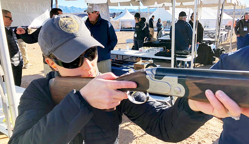 Beretta's new line of Vittoria O/U shotguns is designed specifically for women shooters.