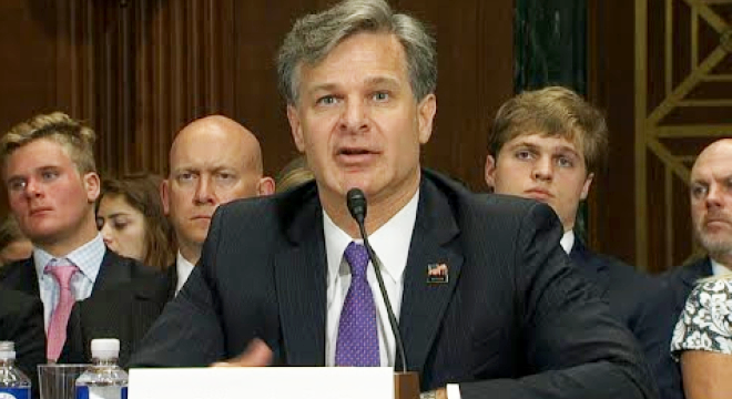 Nominee for FBI Chief Answers Gun Background Check Questions