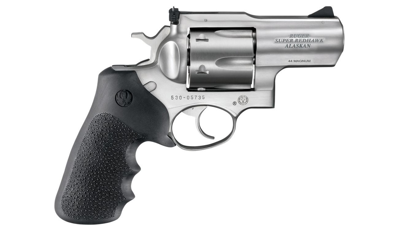 The Ruger SuperRedhawk Alaskan model is a popular choice in bear country.