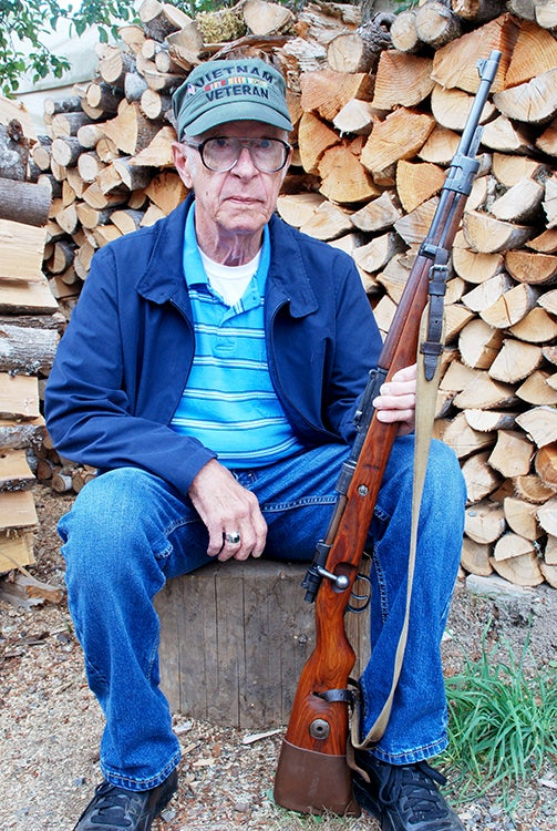 The Old Man with the Mauser 98 while on a visit to SW Washington state.