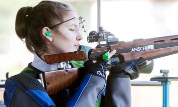 A Young Shooter's Exceptional Display of Sportsmanship