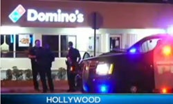 Armed Domino's Delivery Driver Thwarts Robbers