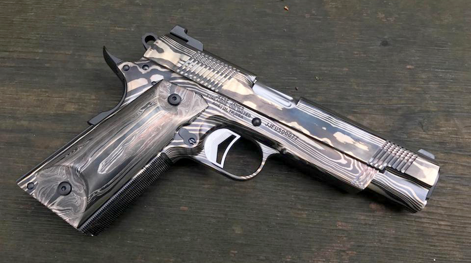 1911 Forged With Pieces of Statue of Liberty