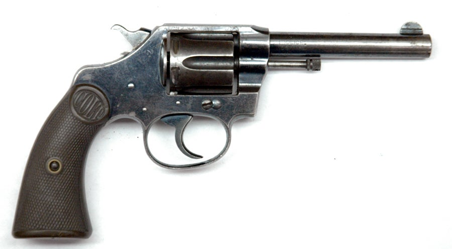The Colt New Police Revolver in .32 S&W Long.