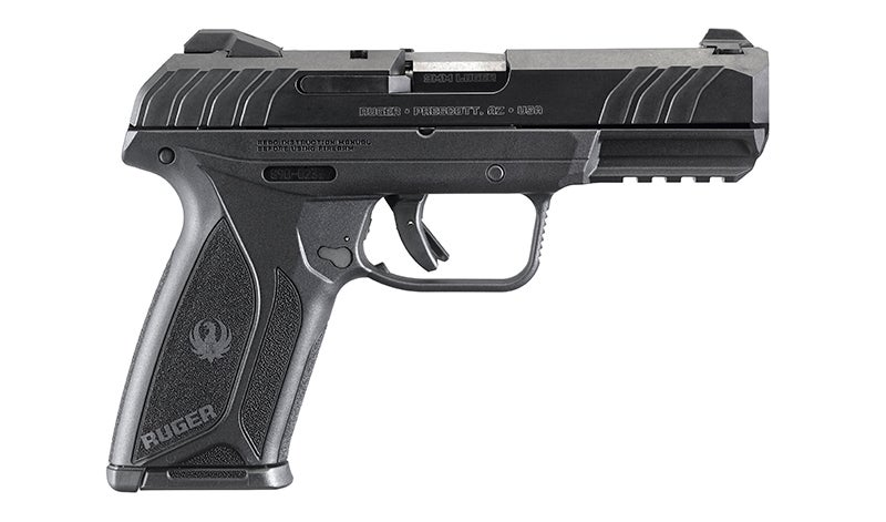 A profile view of the new Ruger Security-9.