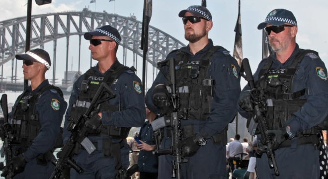 Aussie Cops Issued More Rifles to Deal With Armed Criminals, Terrorists