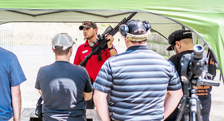 Some instruction time before range time.