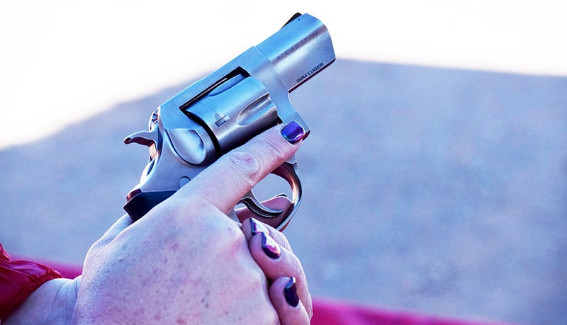 As it's chambered for the rimless 9mm, the new SP101 requires the use of moon clips.