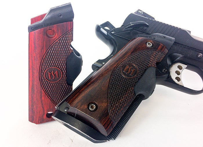 Master Series Green Lasergrips from Crimson Trace.