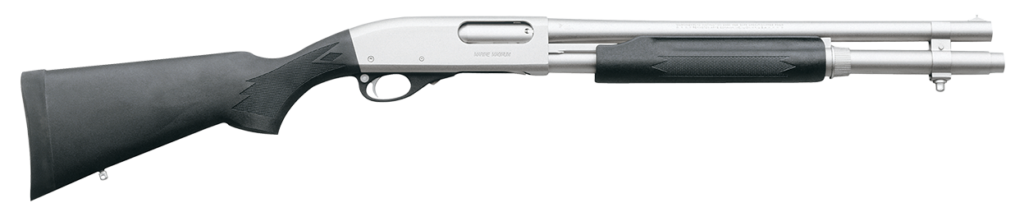 Model 870 Special Purpose Marine Magnum with an anti-corrosion finish.