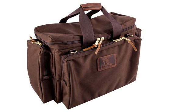 The author chooses Brownell's Signature Series range bag.