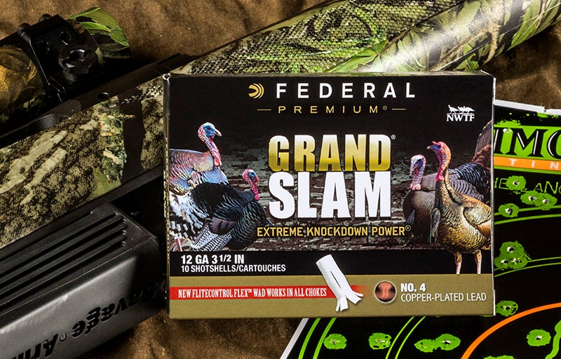 New Grand Slam shotshells extend the range and lethality of conventional turkey payloads.