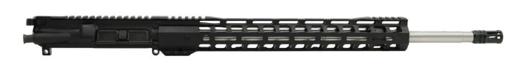 The Palmetto State Armory PSA-224 upper works with any mil-spec AR15 lower receiver.