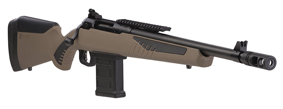 The new Savage 110 Scout has the Accufit stock system, allowing for a custom fit for any shooter.