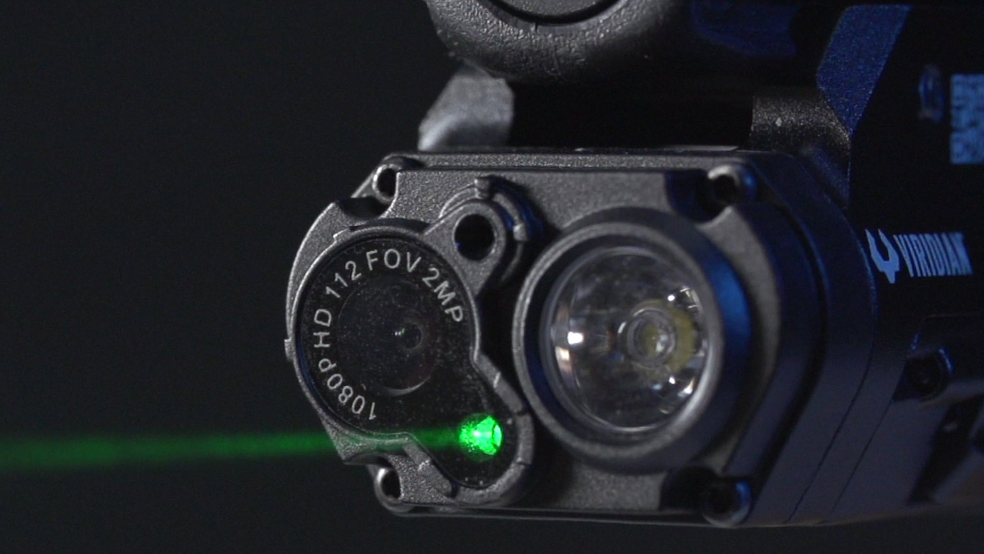 Viridian Adds HD Camera and Mic to Light/Laser Unit