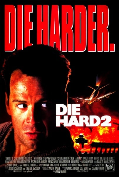 The poster for *Die Hard 2*.