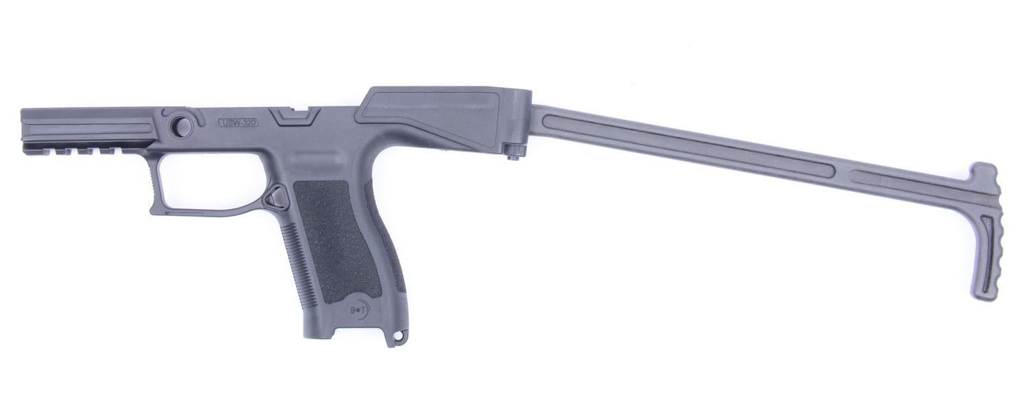 The new B&T polymer lower on its own.