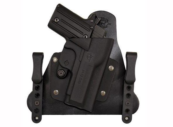 The Cavalry brings hybrid holster benefits to compact handguns.