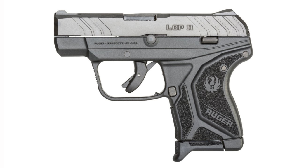 The other side of the Ruger LCP II.