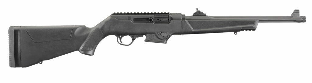 A right profile of the new Ruger PC-9 Carbine.