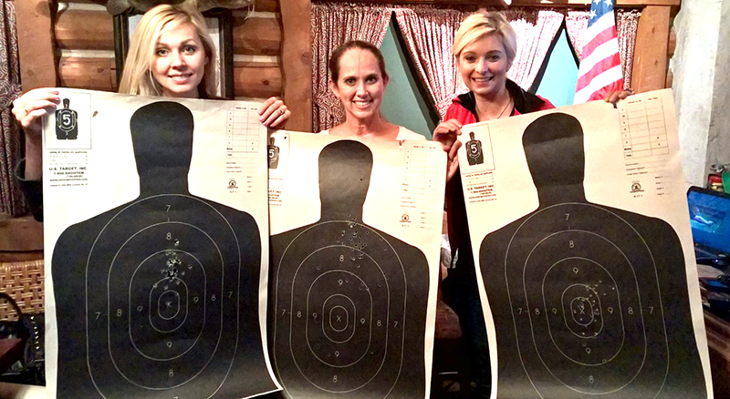 These students completed a concealed carry course covering gun safety, nomenclature, state laws, and live fire training.
