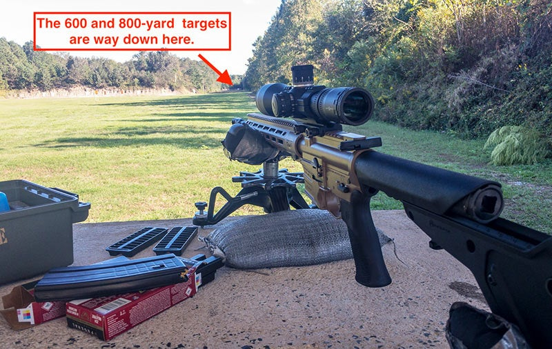 long range shooting with the savage 224 valkyrie