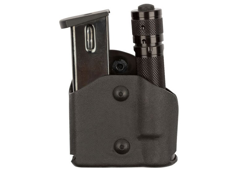 The Model 574 Magazine Holder and Light Pouch from Safariland.
