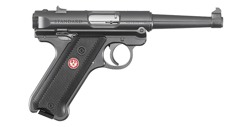 The new Mark IV Standard is a throwback to the company's first pistol made in 1949 with a tapered 4.75