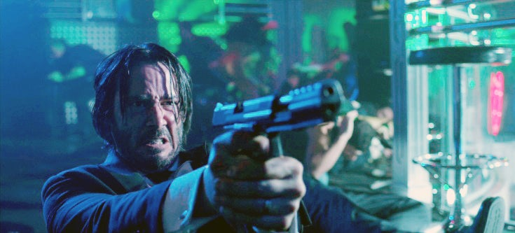 Guns of John Wick 1
