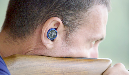 The Beretta Off Shot Mini Headset is a passive hearing protection set, meaning they function pretty much like earplugs, reducing all noises by 32 decibels.