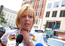 D.C. Chief Tells People They Should 'Take A Gunman Out'