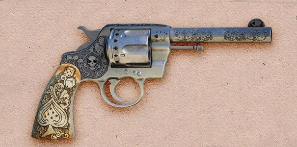 The High Roller is a unique variant of the Colt New Army & Navy revolver.