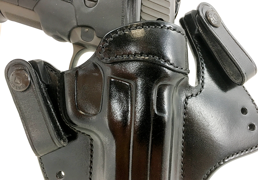 This Galco V-Hawk inside-the-waistband holster