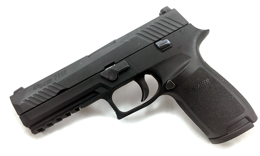 The Sig Sauer P320.